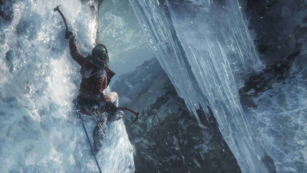 Kvit jol i Rise of the Tomb Raider på Xbox One